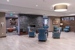 Relax in the lobby before you explore Denver Tech Center
