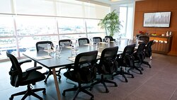 A modern space perfect for your business meetings.