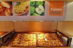 Free Breakfast everyday at Holiday Inn Express Birmingham Redditch