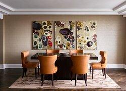 InterContinental London Park Lane Palace Suite 510 Dining Area