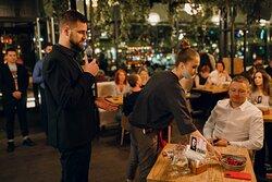 Гастрольный ужин Дениса Крупени в ресторане Мамука