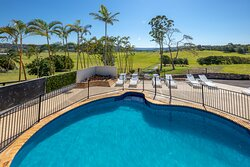 Relax on a sun lounger around the pool