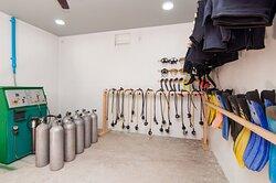 Dive center Equipment's