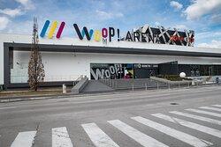 WOOP! ARENA entrance.