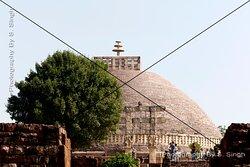 Different Locations , Sanchi Stupa's Monuments Site.