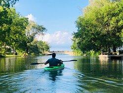 Kayaking in Niagara