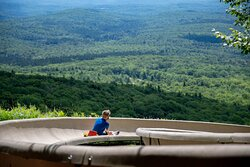 Views from the Triple Tracked Alpine Slide