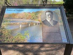 Theodore Roosevelt Island Park Sign