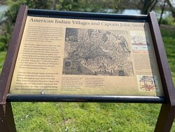 Theodore Roosevelt Island Park Information Sign