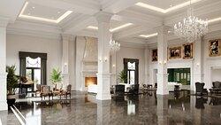 The Equestrian Hotel lobby