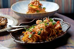 Spicy Lobster Spagetti
