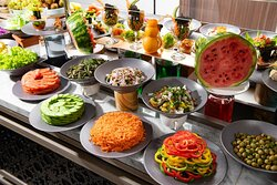 Buffet cold selection