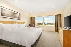 Upper Floor Harbour View Suite Bedroom