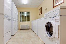 Laundry Facility - Complimentary - Open 24 Hours