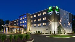 Brand New Medina Hotel at Night