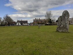 The village centre from the edge of the South Inner Circle.