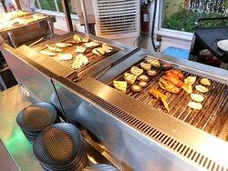 麗豪酒店池畔燒烤自助餐