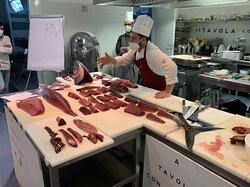 #chef Marco Claroni @ La Macelleria di pesce