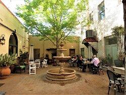 The Century Bar & Grill, Alpine TX - Hacienda Patio