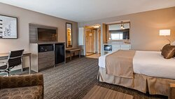 Junior Suite Single King With Balcony