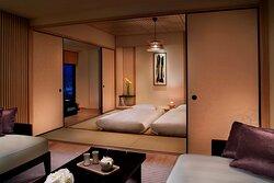 Corner Suite Tatami Bedroom