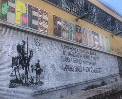 Murales - quartiere Garbatella