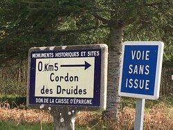 Landéan - Cordon des Druides