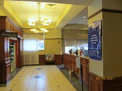 Lobby/front desk area.