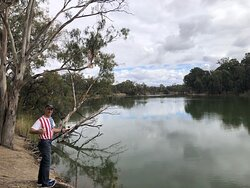 Fishing just done from Neds Corner Homestead