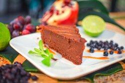 Gâteau maison Marron-Chocolat  VEGAN
