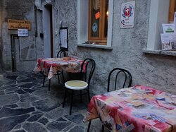 Outside dining area from of Casa Cristina