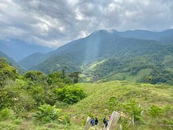 Day 1 - before crossing into the thicker jungle on the second mountain