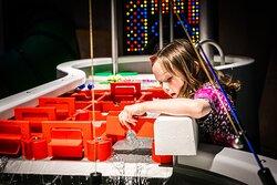 Waterworks exhibit in 'We are Exploring' Zone