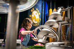 Waterworks exhibit in 'We are Exploring Zone'