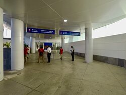 Terminal #2 International Arrivals Area, this is how it looks like!