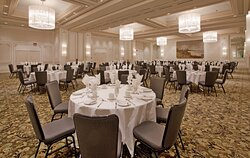 Nations Ballroom for up to 500 people