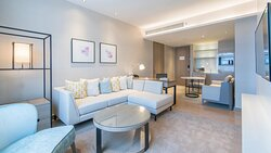 Living Room of 2 Bedrooms Suite