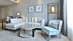 Living Room of 1 Bedroom Suite