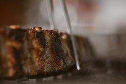 costine di maiale CBT con la nostra salsa barbecue