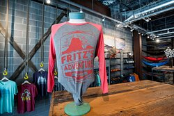 Take the adventure home at Fritz's Outfitters