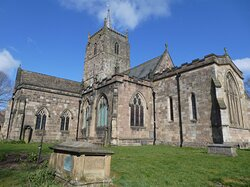 The Parish Church of St Mary the Virgin, Wirksworth:  eastern view