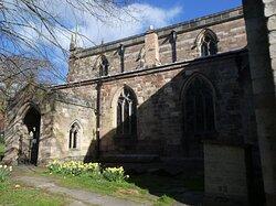 The Parish Church of St Mary the Virgin, Wirksworth:  entrance