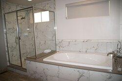 Casita King bathroom