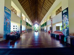 Main Lobby at Occidental Xcaret Hotel where We can take You to & from anywhere including the Cancun Airport.