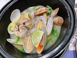 Portugnese Style Clam Boil w/Herb