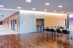 Bookmark Meetings. Pre-function Area and breakout room.