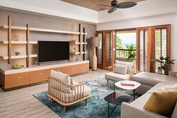 Oceanfront Suite Seating Area