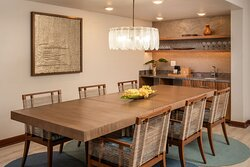 Oceanfront Suite Dining Area