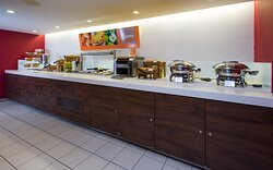 Good morning! Help yourself at our inclusive breakfast buffet