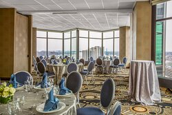Summit Room on our 25th Floor set for a Social Event